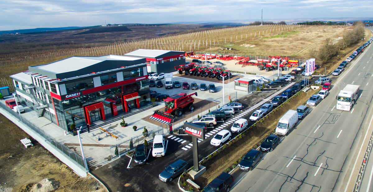 Case-IH-Dealership-Grand-Opening-Agroprofi-Moldova-Sky-view-1